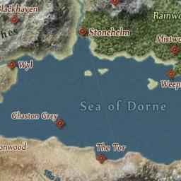 Interactive Game Of Thrones Map With Spoilers Control